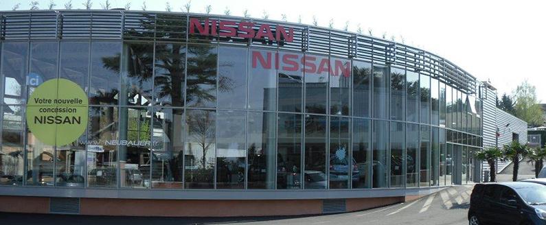 Concession Neubauer NISSAN Chambourcy